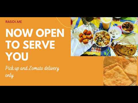 Open to serve you HomeMade food from Rasoi.me | Order on Zomato