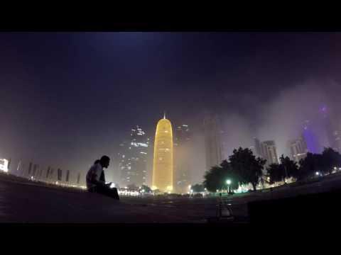 1 AM Night Time Lapse I Qatar I Doha Corniche