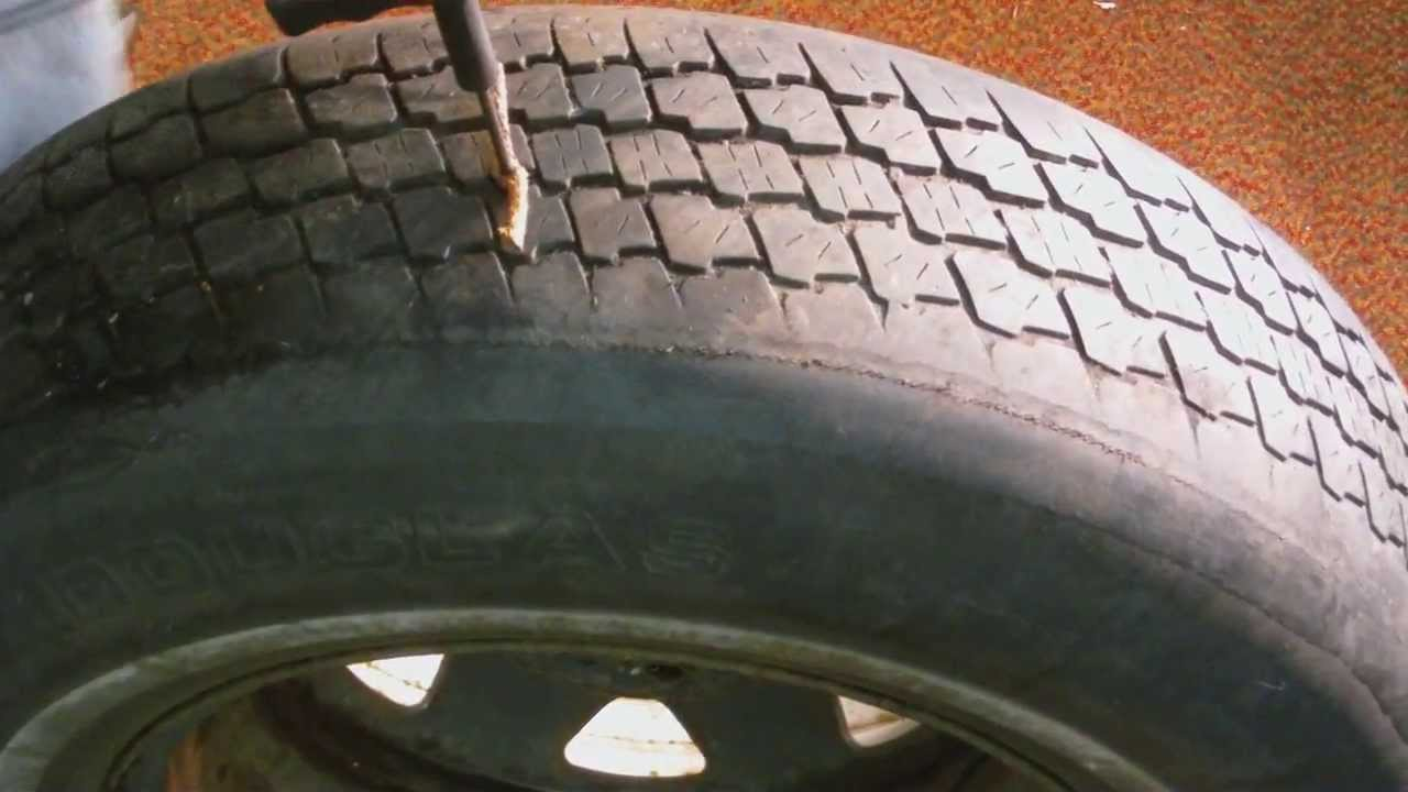 Tire Patch Cost >> How To Fix A Flat Tire With A Tire Plug Kit Tire Repair Kit In This Video