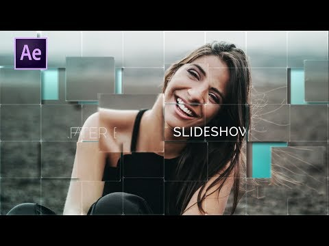 Elegant Blocks Slideshow in after effects | After Effects Tutorial | Effect For You
