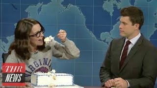 'SNL: Weekend Update': Tina Fey, Seth Meyers and Jimmy Fallon Return | THR News