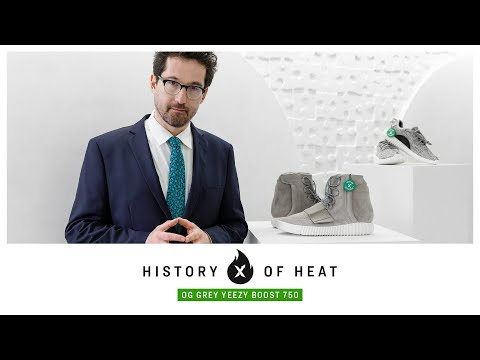56a31847 StockX History of Heat: OG Grey Yeezy Boost 750 - YouTube