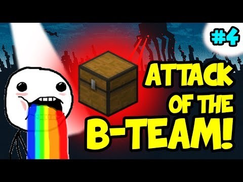 Minecraft: Attack of the B-Team EP 4 - What Big Chests you have