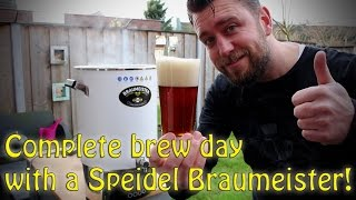 Complete Brew day with the 20L Speidel Braumeister!