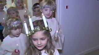 Lucia og nisseoptog - TV-Ishøj