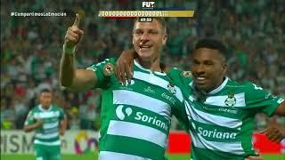 embeded bvideo Resumen | Santos Laguna 1 - 1 América | Liga MX - Apertura 2018 - Jornada 16 | Club Santos Laguna