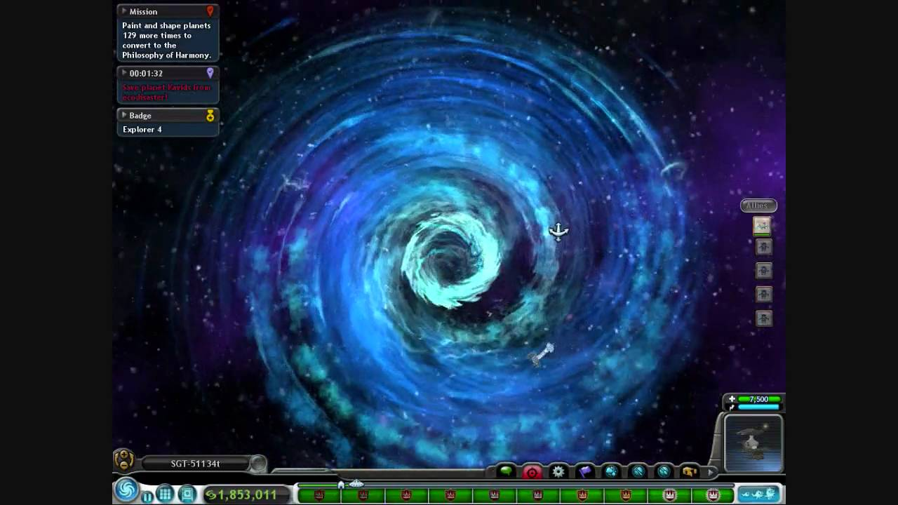 Spore Space Stage Gameplay Youtube