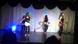 Chutney music dance at Schenectady Hindu temple