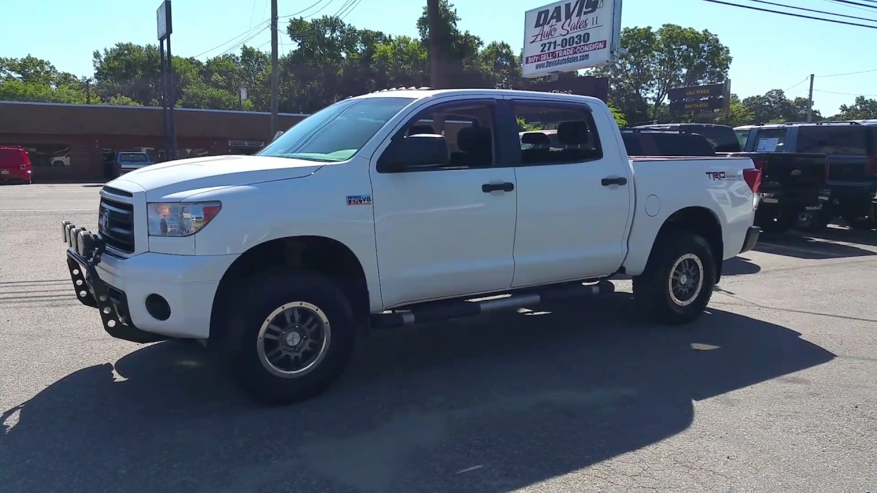 2011 Toyota Tundra Rock Warrior Youtube