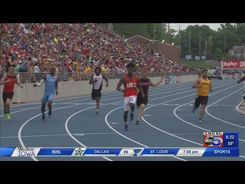 Ames High School athlete looks to defend title