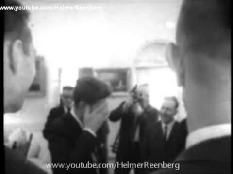 January 31, 1963 - Boston Celtics basketball team visit President John F. Kennedy in the White House