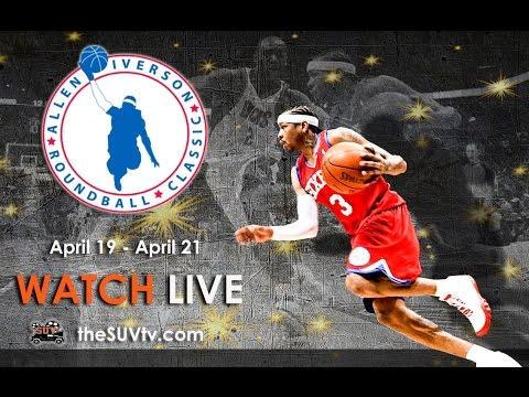 Inaugural Allen Iverson Roundball Classic Full Game