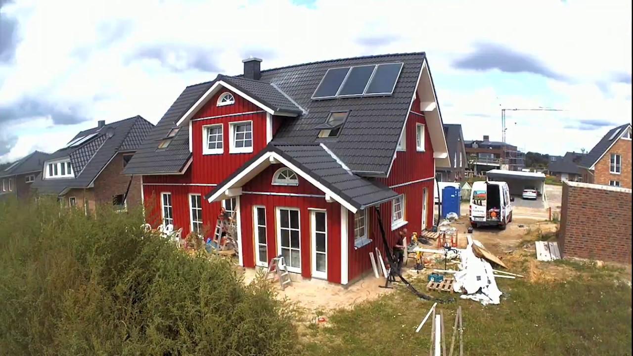 Ein Fjorborg Schwedenhaus Entsteht Youtube
