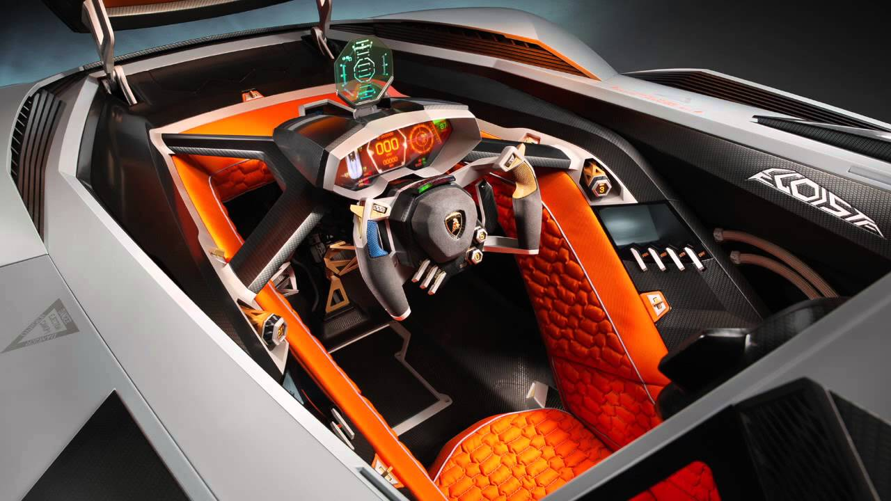 lamborghini egoista the bull kicks its own ass youtube