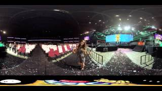 Laura Marano in 360 at 2016 RDMA Rehearsal with IM360 | Radio Disney Music Awards