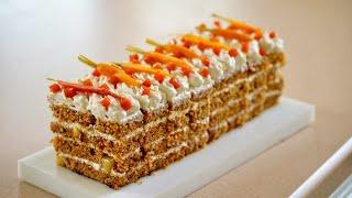 Carrot Cake – Bruno Albouze