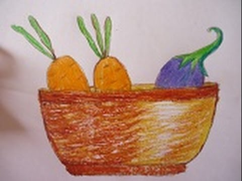 Fruit and Vegetable Prints Printmaking Lessons for Kids