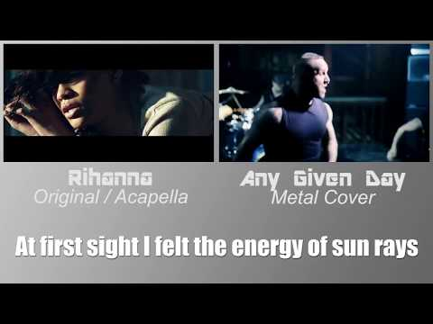 Diamonds Mashup - Any Given Day (Metal Cover) - Feat. Rihanna