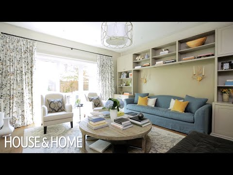 Interior Design – Small Space Makeover: A Sophisticated Fami