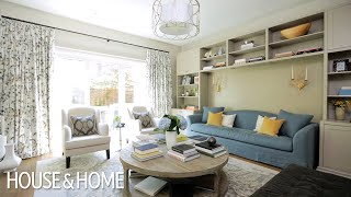 Interior Design – Small Space Makeover: A Sophisticated Family Home