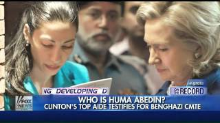 Who is Huma Abedin?