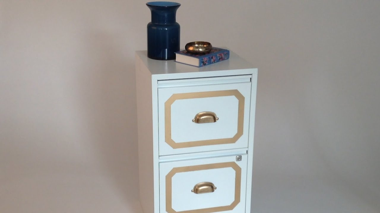 Plain To Pretty: File Cabinet Makeover U2013 Womanu0027s Day   YouTube