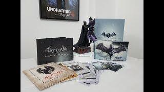 Batman Arkham Origins Collectors Edition Ps3 unboxing