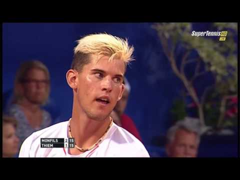 Gael Monfils vs Dominic Thiem FULL MATCH HD CROATIA OPEN 2015 PART 1