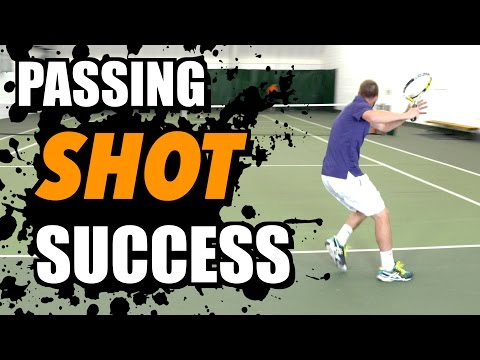 Passing Shot SUCCESS - Tennis Lesson
