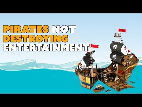 Piracy NOT DESTROYING Movies & Games - The Know Entertainment News