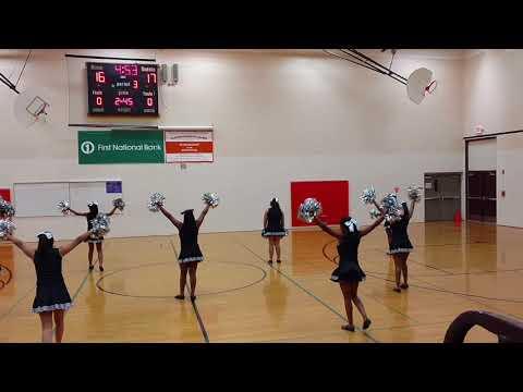 Clinton Rosette Middle School 7th Grade Pom's Dance 11/15/2017