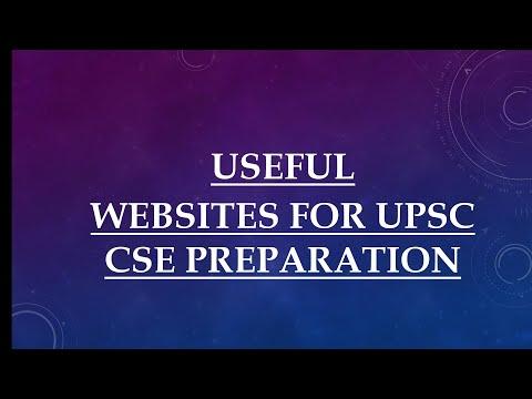 WEBSITES FOR UPSC CSE PREPARATION