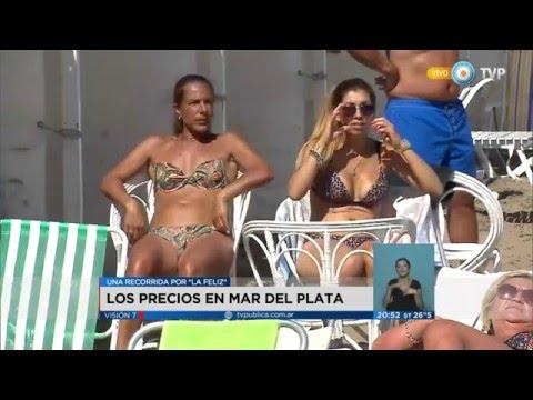 Visión 7 - Los precios en Mar del Plata