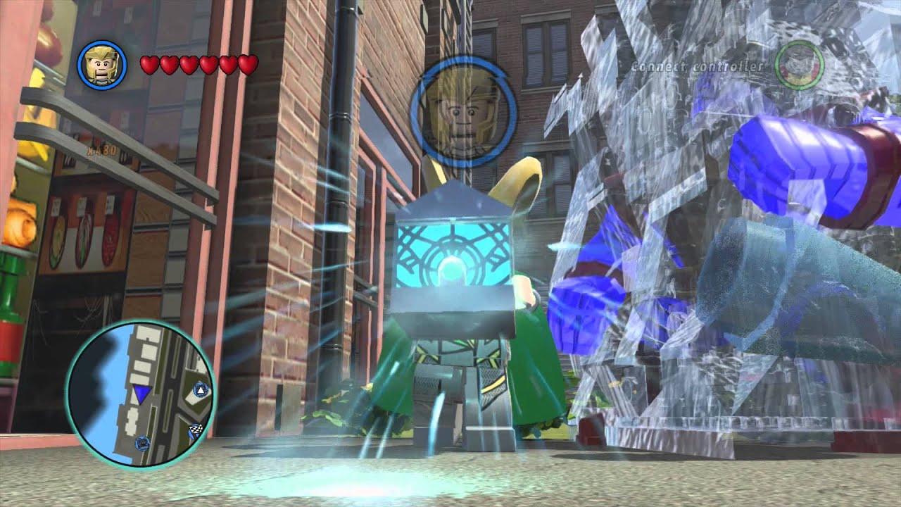 LEGO Marvel Superheroes   Loki Free Roam Gameplay   YouTube