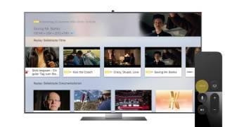 Teleboy-App für Apple TV (4. Generation)