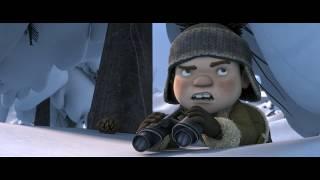 Снежные гонки - Русский трейлер (2019)