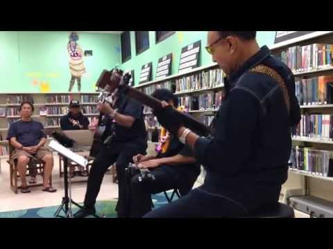 Bobby Ingano Trio - My Little Grass Shack - Kaimuki Library, Honolulu