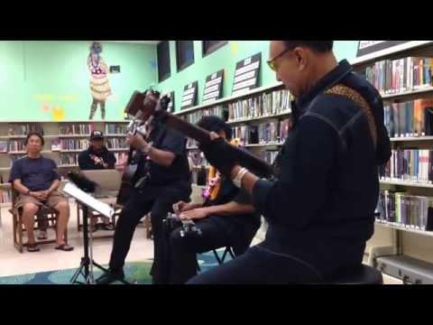 Bobby Ingano Trio - My Little Grass Shack - Kaimuki Library, Honolulu