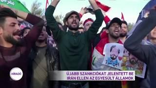 Újabb szankciókat jelentett be Irán ellen az Egyesült Államok