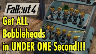 get all bobbleheads in 1 second fallout 4 xbeau gaming