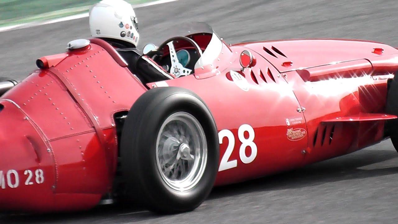 Maserati 250F F1 ex-Stirling Moss & J.M Fangio - Formula 1 vintage