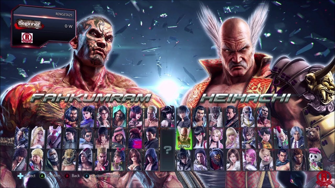Tekken 7 Season 3 Updated Character Selection Screen With New Dlc