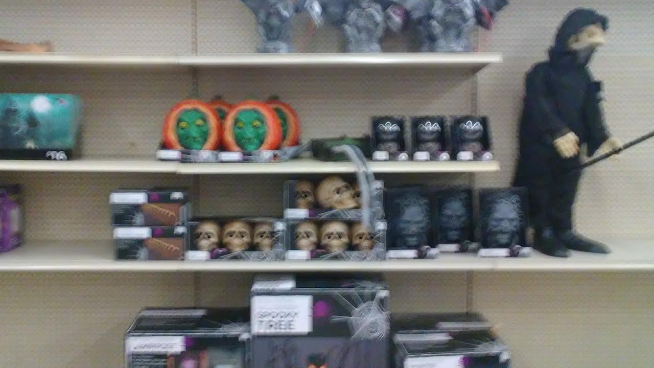 In Store Big Lots Halloween 2017