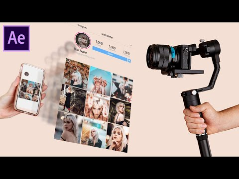 Instagram Fly-In iPhone After Effects Tutorial