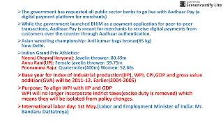 rbi grade b general and economic awareness part 4