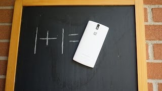 OnePlus One Full Review, Official Unboxing, and White vs  Black Models... in 4K!