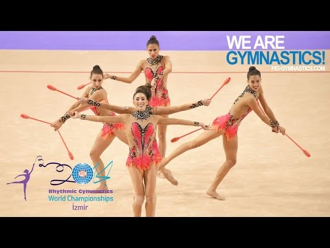 HIGHLIGHTS - 2014 Rhythmic Worlds, Izmir (TUR) - Groups 5 Cl