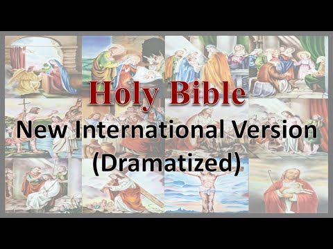 AudioBible   NIV 40 Matthew   Dramatized New International Version   High Quality