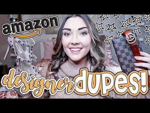 BEST FROM AMAZON | TOP 10 DESIGNER DUPES FROM AMAZON