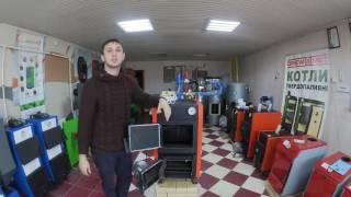 """Котел Конвектика Титан 15 с автоматикой """"длительное горение"""" - видео обзор(, 2016-11-13T14:14:55.000Z)"""